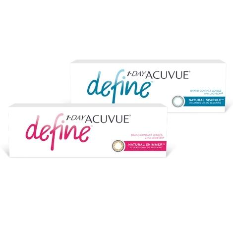 Контактные линзы 1-Day Acuvue Define