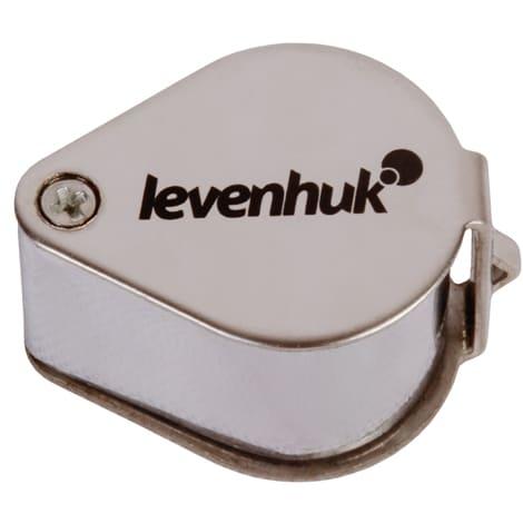 Ювелирная лупа Levenhuk Zeno Gem ZM5: складной корпус уберегает линзу от повреждений и пыли