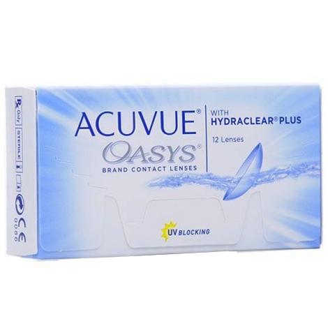 Контактные линзы Acuvue Oasys (12 шт)
