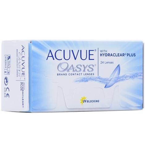 Контактные линзы Acuvue Oasys (24 шт)