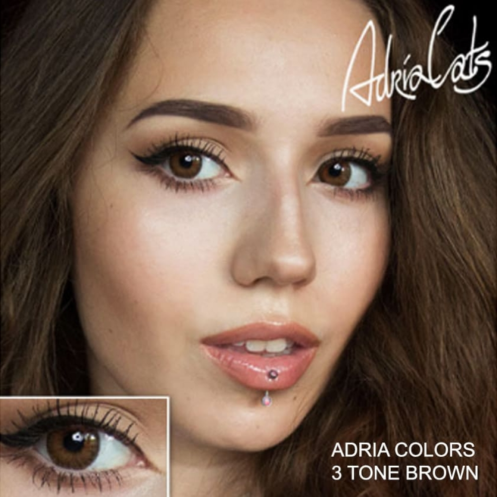 Adria Color 3 Tone Brown