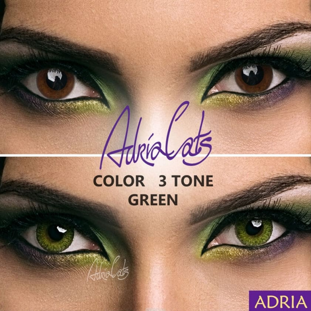 Adria Color 3 Tone Green