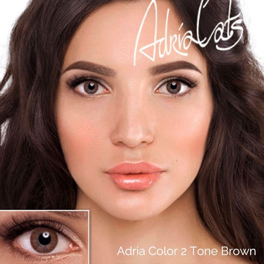 Adria Color 2 Tone Brown