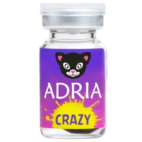 Карнавальные контактные линзы Adria Crazy