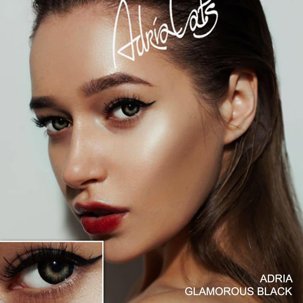 Цветные линзы Adria Glamorous Black