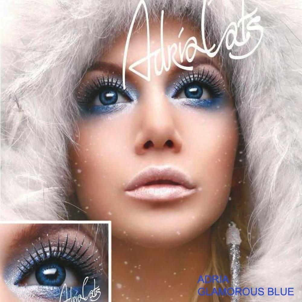 Цветные линзы Adria Glamorous Blue