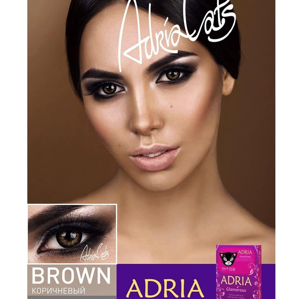 Цветные линзы Adria Glamorous Brown