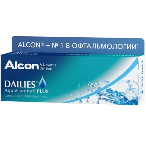 Контактные линзы Dailies AquaComfort Plus