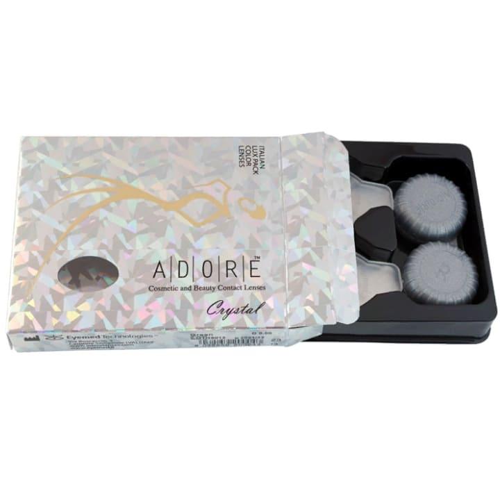 Цветные линзы Adore Crystal