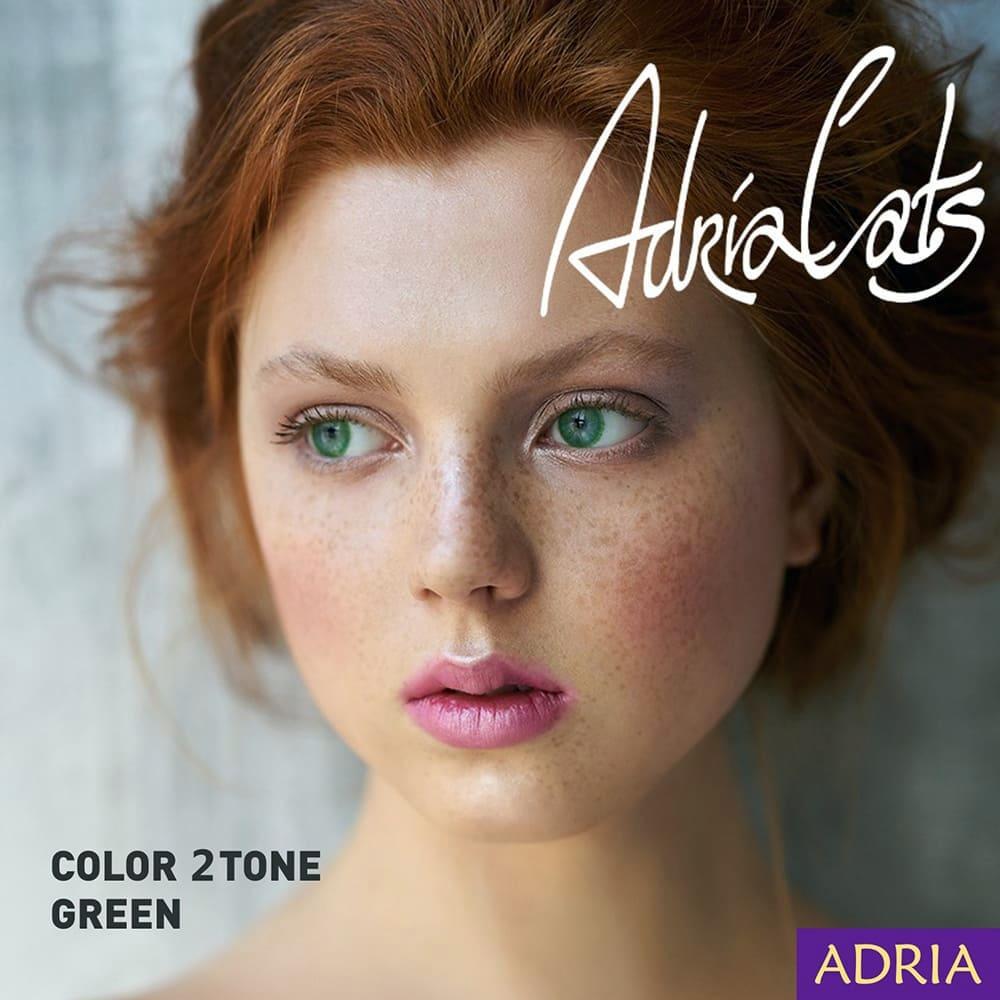 Adria Color 2 Tone Green