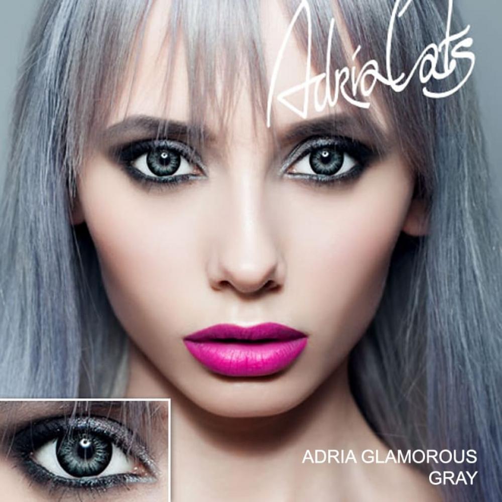 Цветные линзы Adria Glamorous Gray