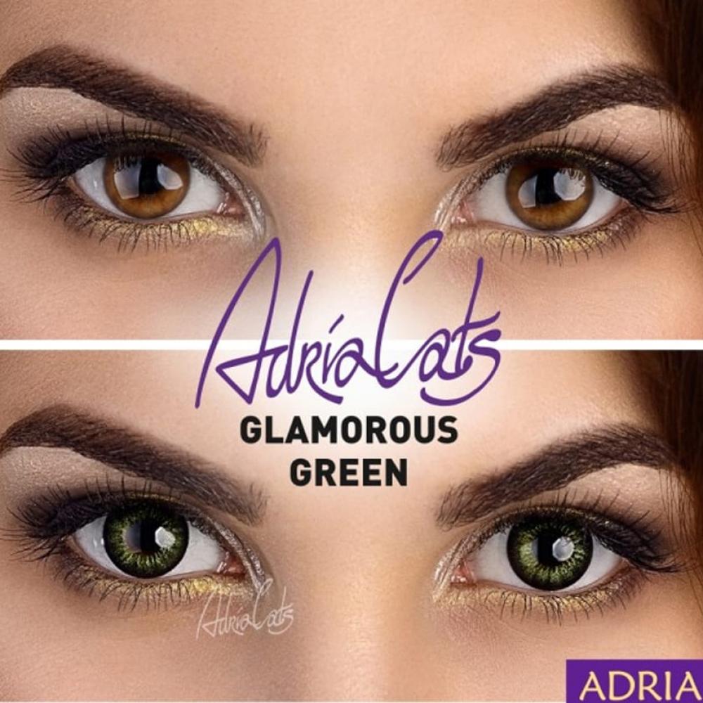 Цветные линзы Adria Glamorous Green