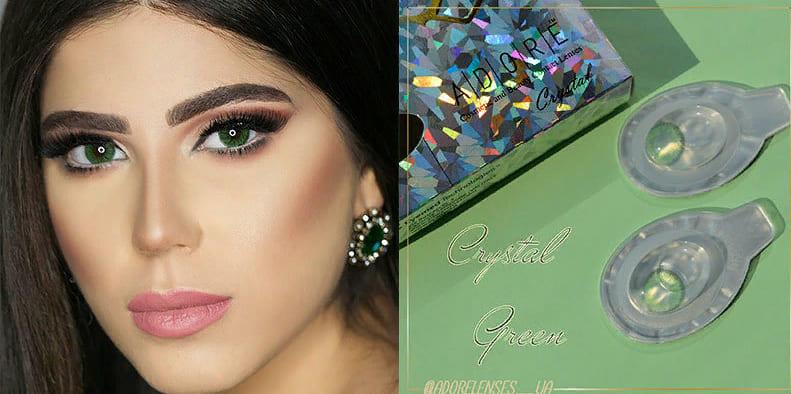 Adore Crystal Green