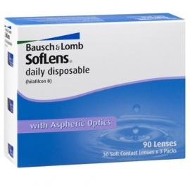 Контактные линзы Soflens Daily Disposable (90 шт)