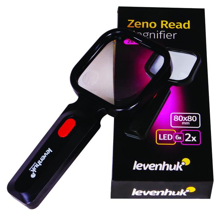 Лупа для чтения Levenhuk Zeno Read ZR10 Black