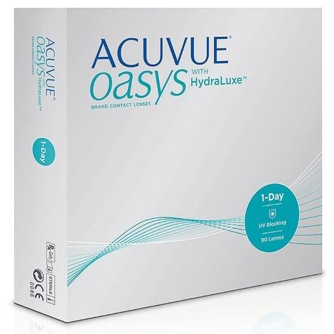 Контактные линзы 1-Day Acuvue Oasys (90 шт.)