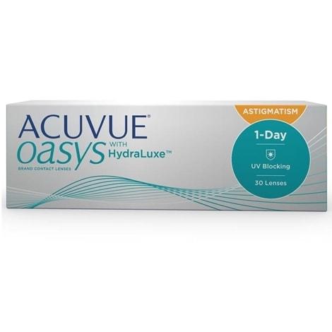 Контактные линзы 1-Day Acuvue Oasys for Astigmatism