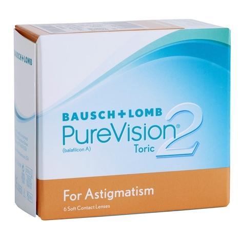 Контактные линзы PureVision 2 Toric