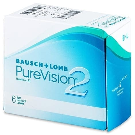 Контактные линзы PureVision 2
